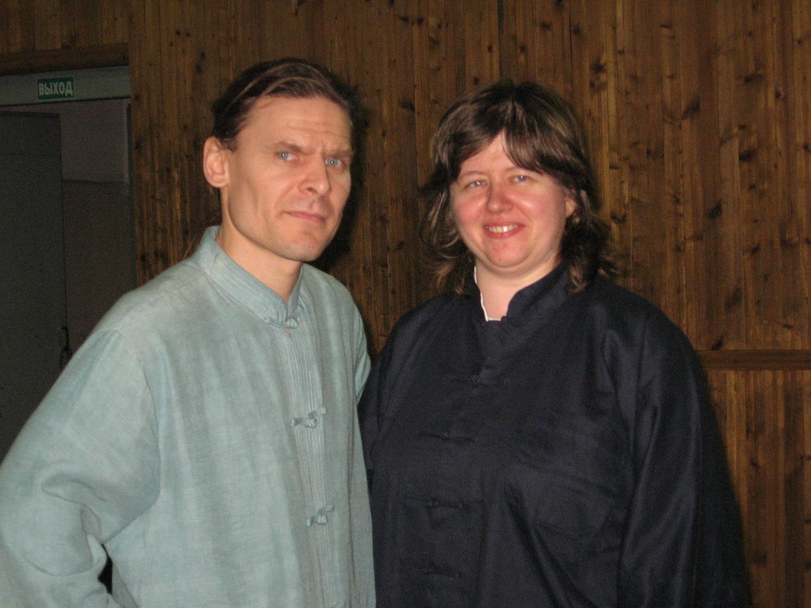 Коровин Олег, инструктор школы Тунг и Гаврилина Анфиса, врач-психотерапевт